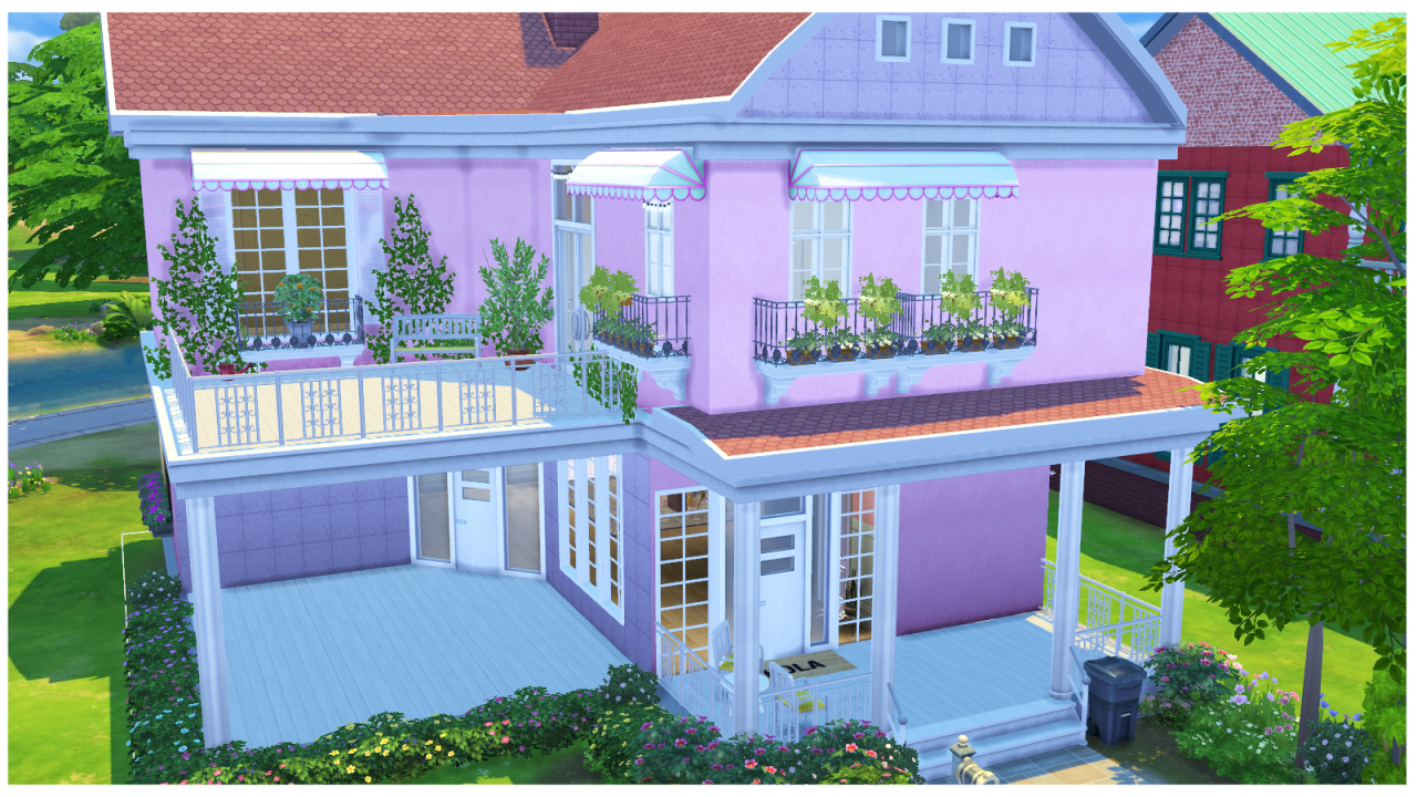my sims 4 blog ts2 murano rejal balcony conversion by