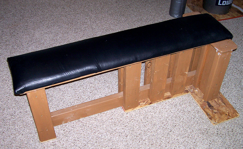 Wooden Exercise Bench Plans Diy