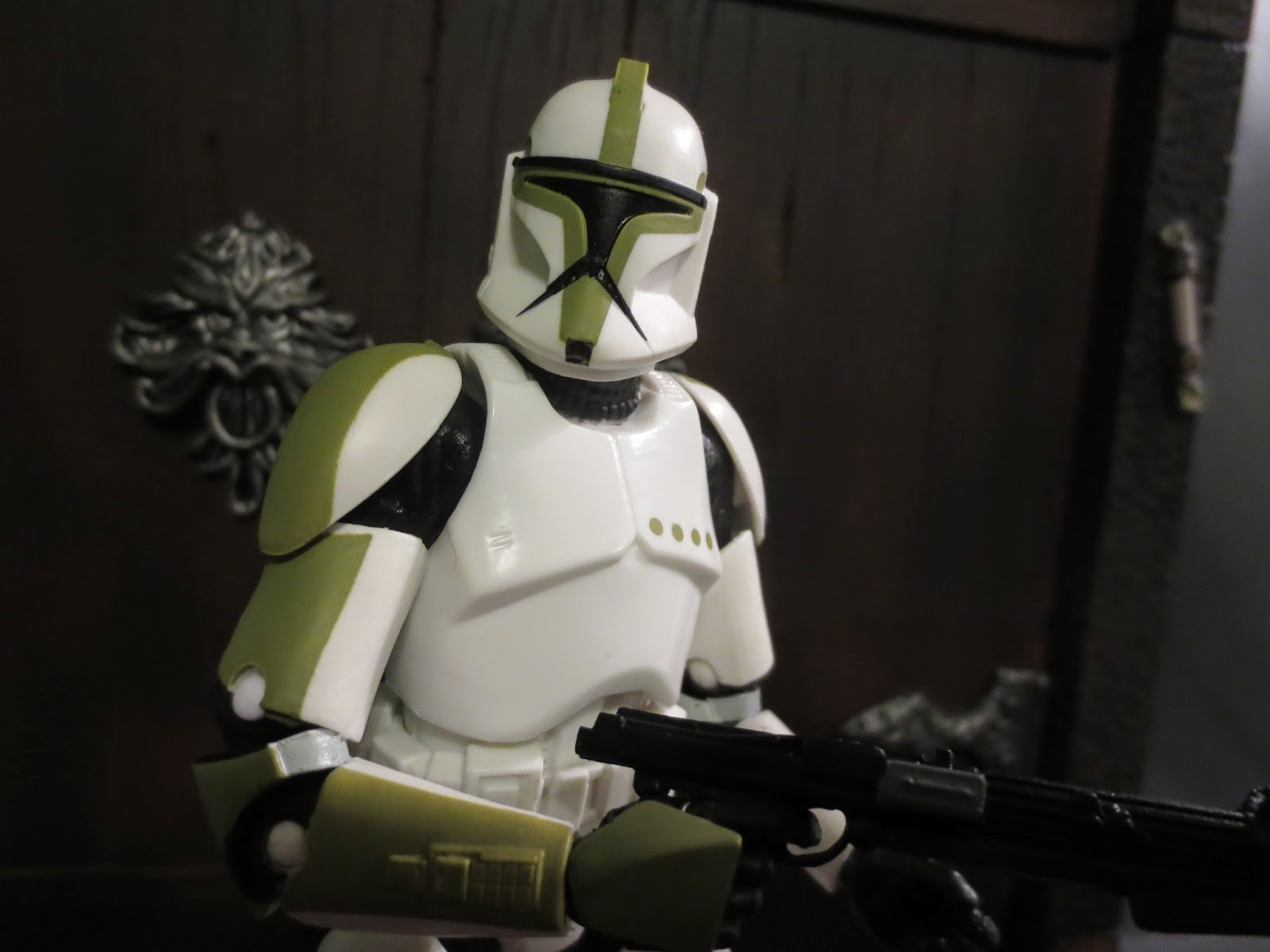 action figure barbecue action figure review clone trooper