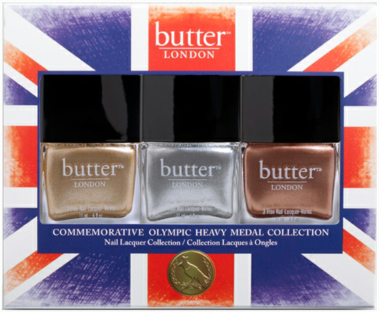 butter London Olympic Heavy Medal Trio Nail Polish