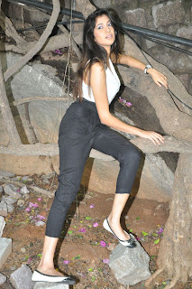 Actress Akhila Picture Gallery at Qmovie Opening  0037