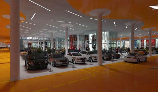 Mall Autopia Europia penjualan mobil terbesar 8