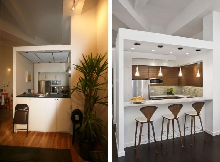 Arquitetando ideias antes e depois reforma de loft em nyc for Loft reformas