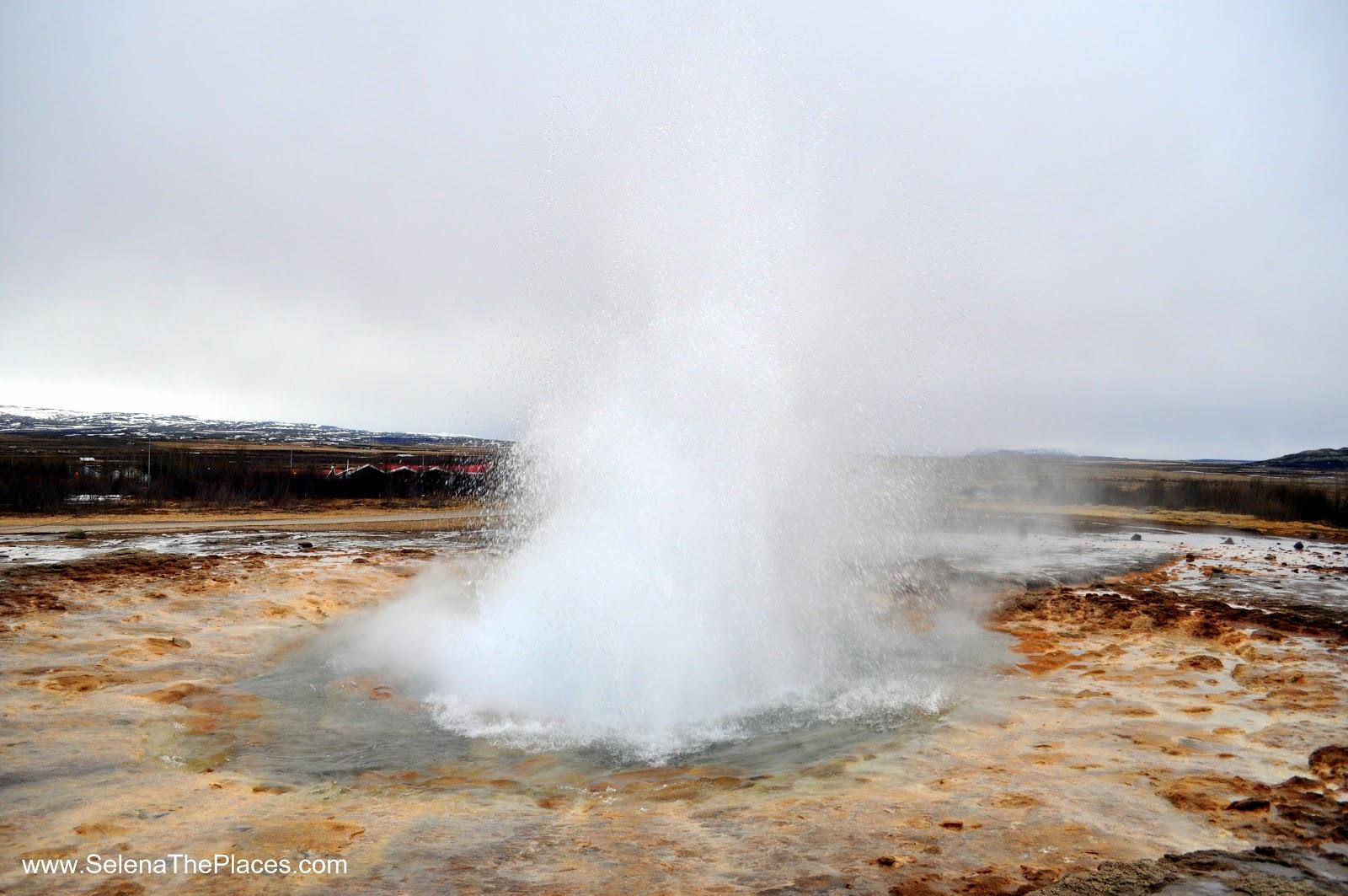 Iceland's Strokkur Geyser
