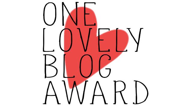 "Premio ""One Lovely Blog Award"""