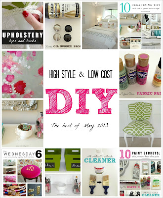 High Style & Low Cost DIY Ideas: The Best of May | LiveLoveDIY