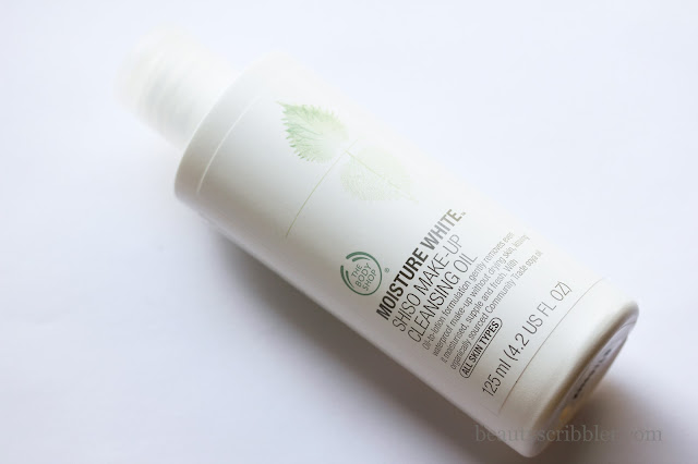 The Body Shop Moisture White Shiso Cleansing Oil