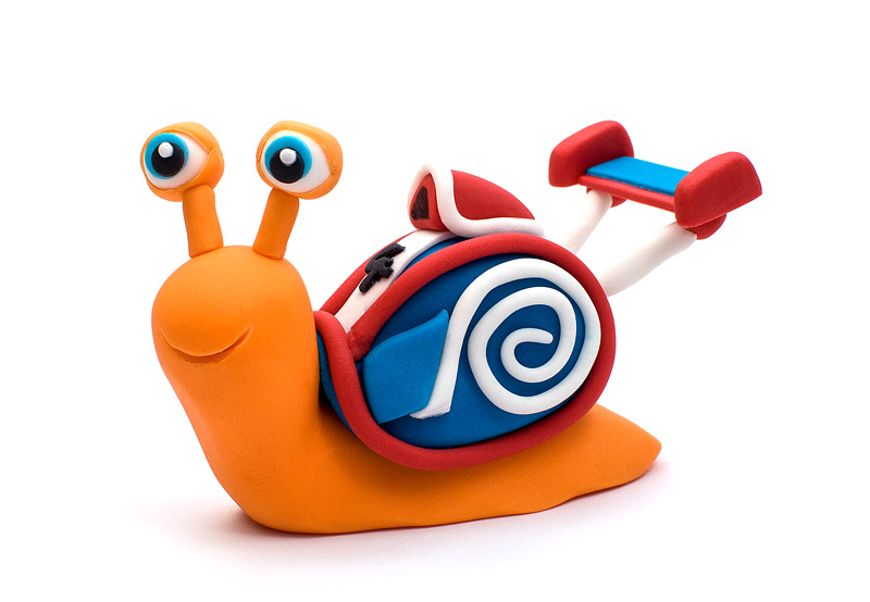 Turbo fondant snail