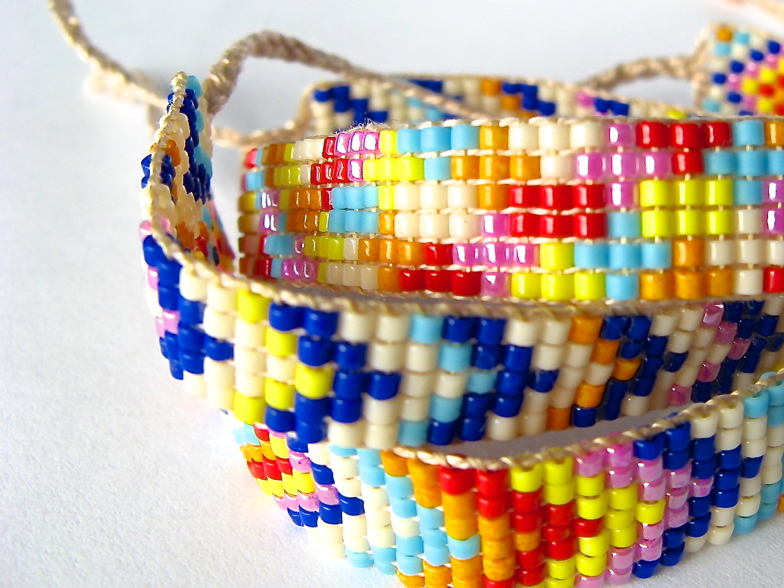 Friendship Bracelets With Beads Patterns | www.imgkid.com ...