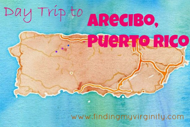 Puerto Rico, honeymoon, Arecibo, maps