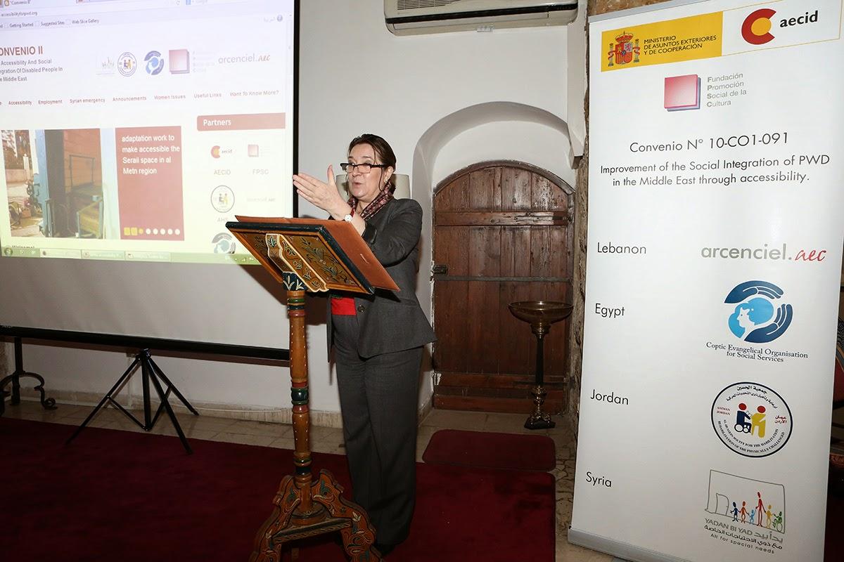 Image for Mrs. Milagros Hernando, Ambassador of Spain in Lebanon