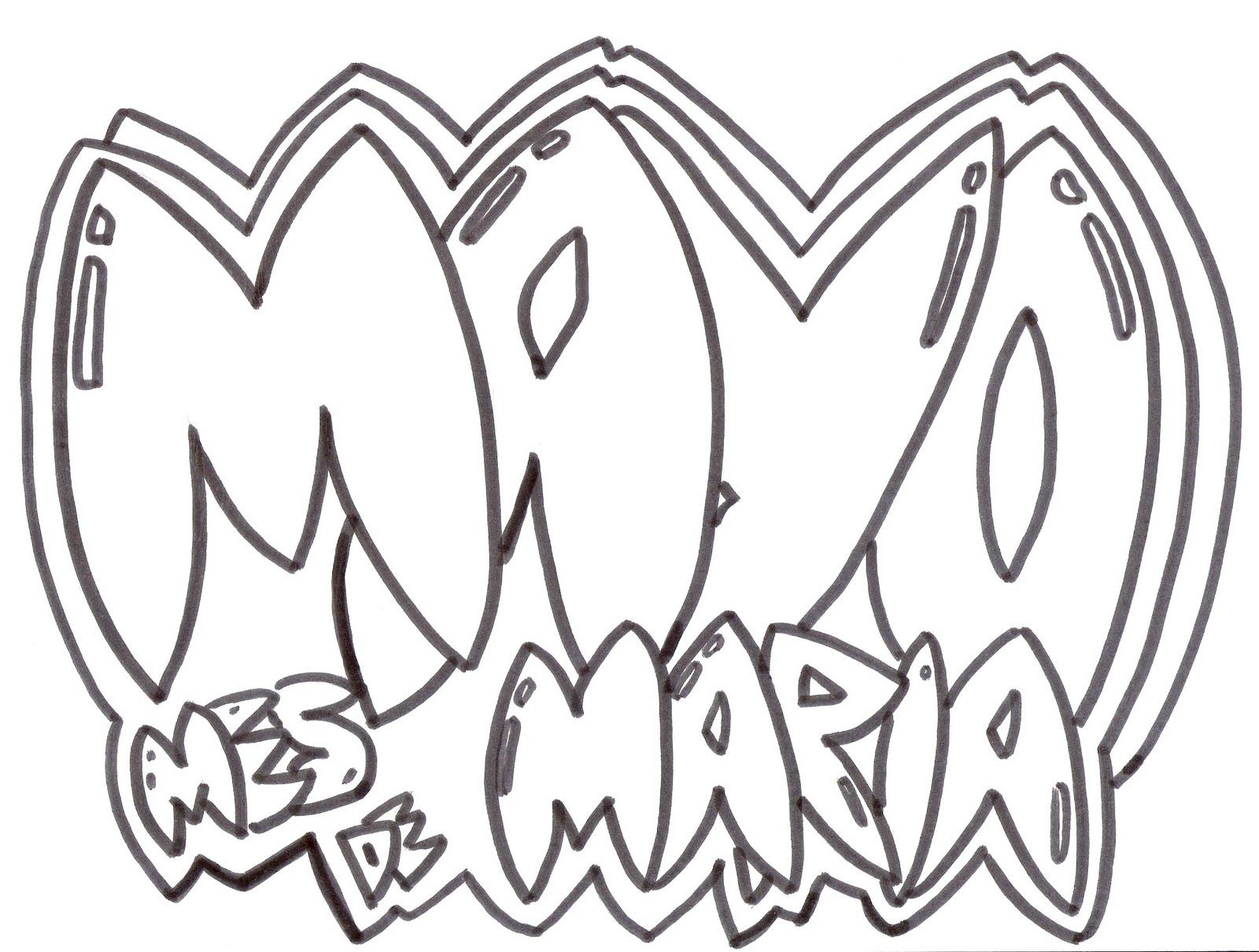 Orden Tercera Dominicana de Ocaña: DIBUJOS DE LA VIRGEN MARÍA