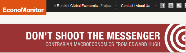 My RGE Economonitor Blog