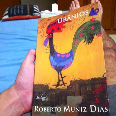 Capa do livro Urânios, do escritor Roberto Muniz Dias