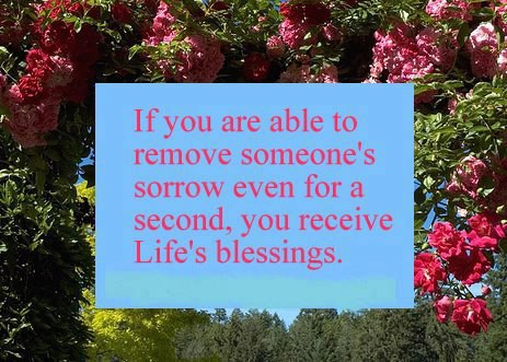 You Receive Life 39 S Blessings More Than Sayings