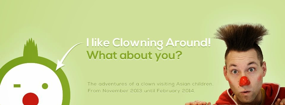 Klik op de foto en like de pagina Clowning Around!