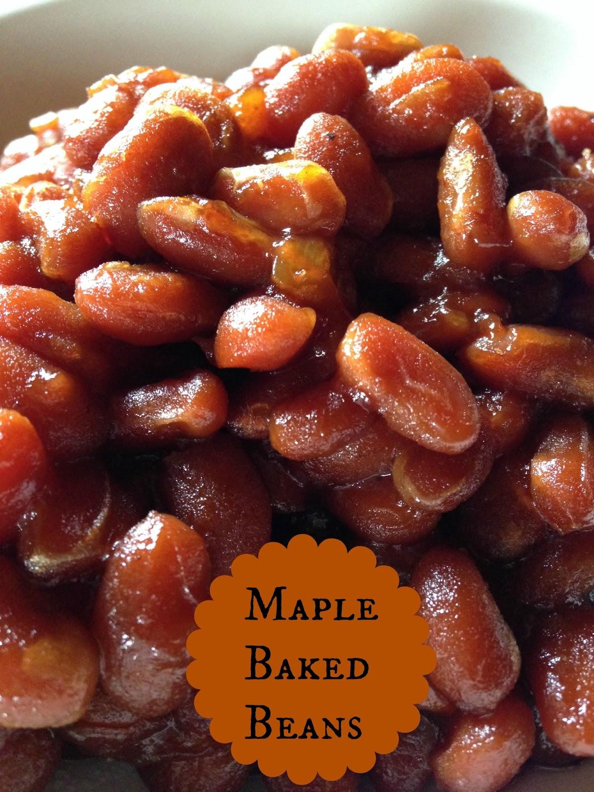 Turnips 2 Tangerines: Maple Baked Beans