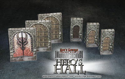 Kev's Lounge Dungeon: Hero's Hall doors