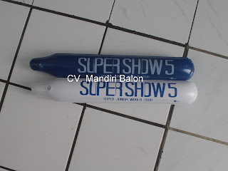 BALON TEPUK Logo SUPER JUNIOR