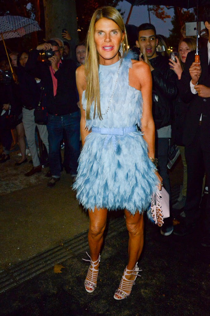 Anna Dello Russo de Balenciaga - Paris Fashion Week 2014