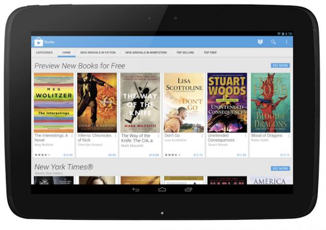Se estrena la versión 4.0 de Google Play