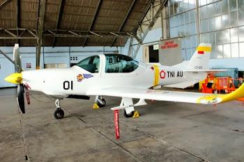 Grob G-120TP-A TNI-AU. PROKIMAL ONLINE Kotabumi Lampung Utara