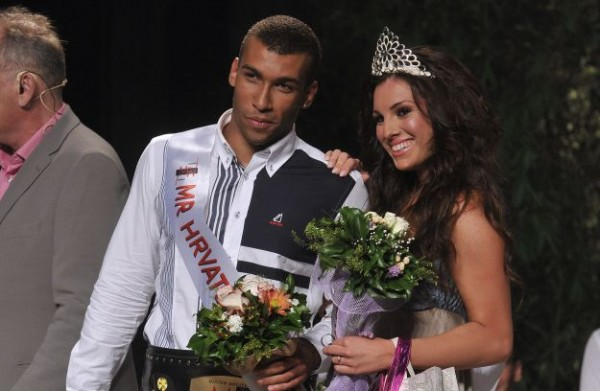 Mister and Miss Hrvatske Croatia 2012 Maja Nikolic Antonio Sincek
