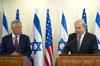 Hagel and Netanyahu