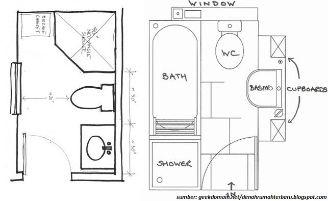 Desain Kamar Mandi Sempit Minimalis Yang Pas Untuk Hunian Anda