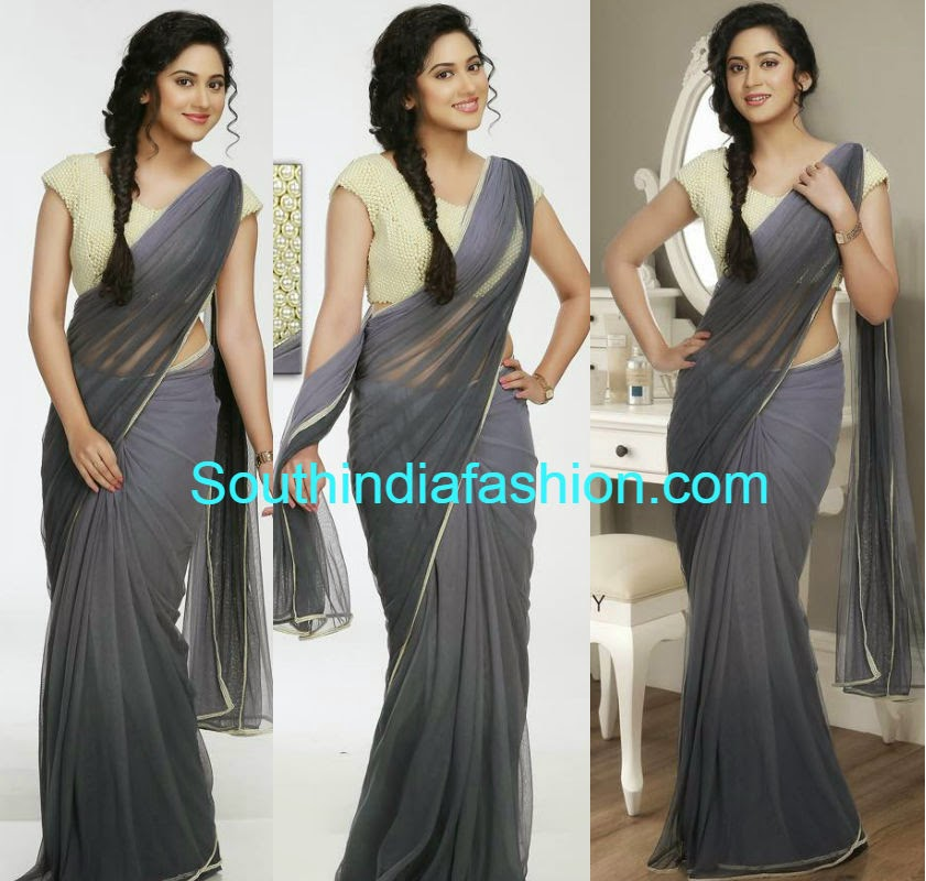 miya in pranaah saree
