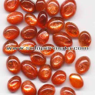 Artikel Batu Permata Natural Sunstone