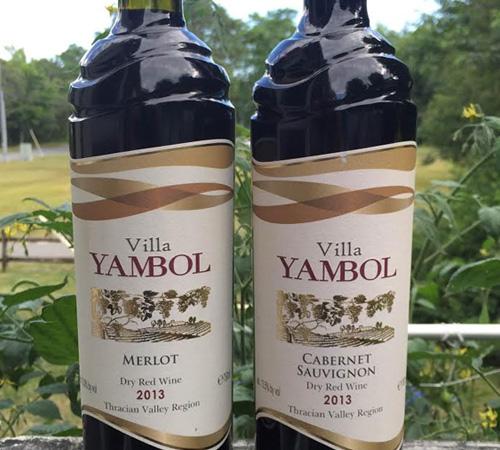 Villa Yambol Merlot 2013 & Villa Yambol Cabernet Sauvignon 2013