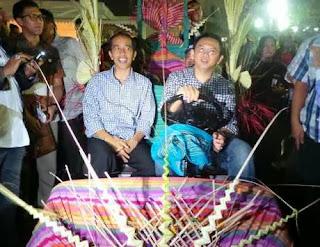 FOTO Mobil Golf Jokowi-Ahok Sempat Mogok Saat Menuju Bunderan HI