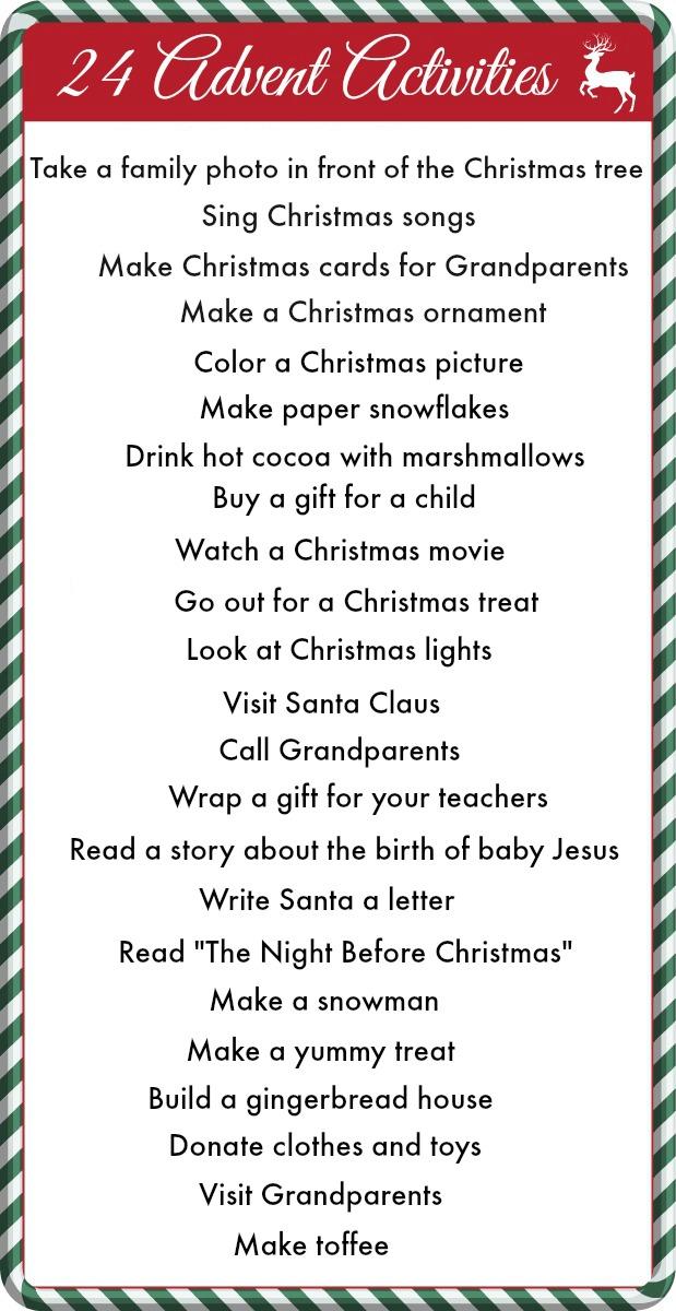 Advent Calendar Ideas Religious : Honey we re home diy advent calendar