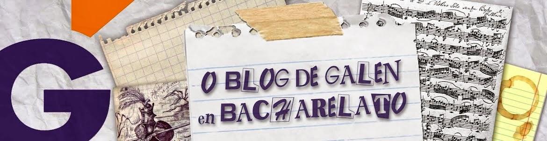 O blog de Galén en Bacharelato