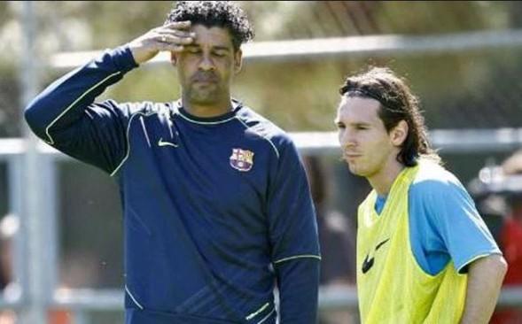 Luis Enrique empata con Rijkaard