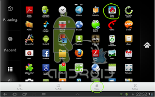 Menyembunyikan Aplikasi Dengan Go Launcher