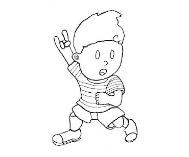#8 Lucas Coloring Page