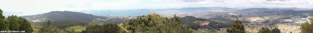 Gran panorámica de Vigo y su ría
