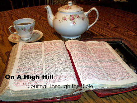 Get your Bible. Brew some tea. Sit awhile and read with me!