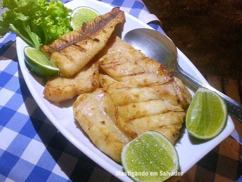 Mar Adentro Restaurante: Surubim na Brasa