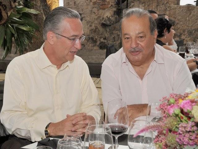 Carlos Slim y Salinas Pliego realizan alianza