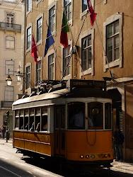 Een typisch Lissabon plaatje