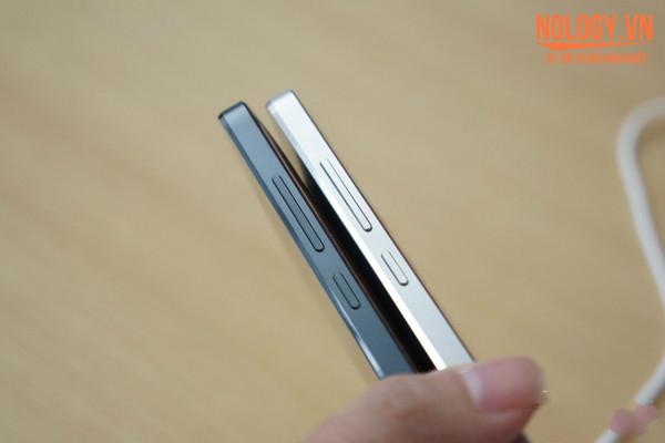 Hình ảnh chiếc Xiaomi Mi4 trắng và đen