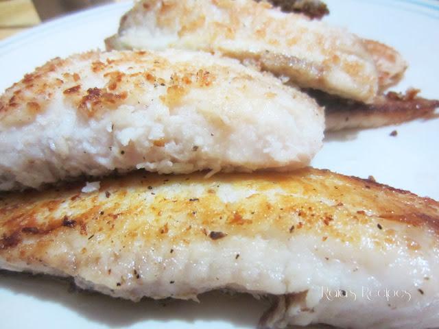 Crispy Coconut Fried Tilapia by Raia's Recipes