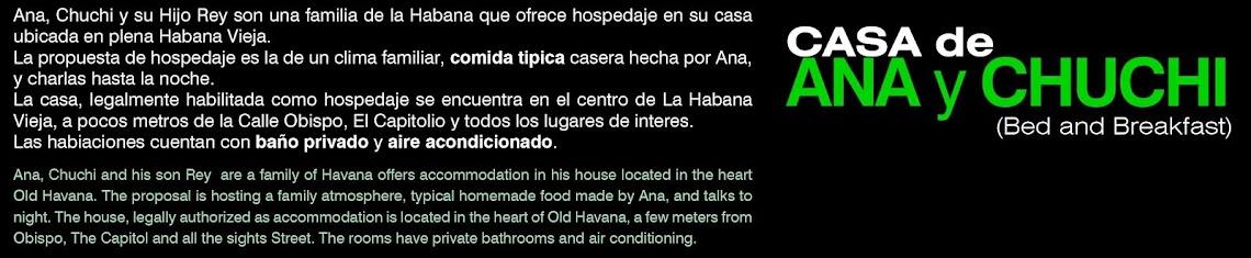 CASA de ANA y CHUCHI Hospedaje Hostel Hotel Habitacion Alojamiento Casa de familia Casa particular