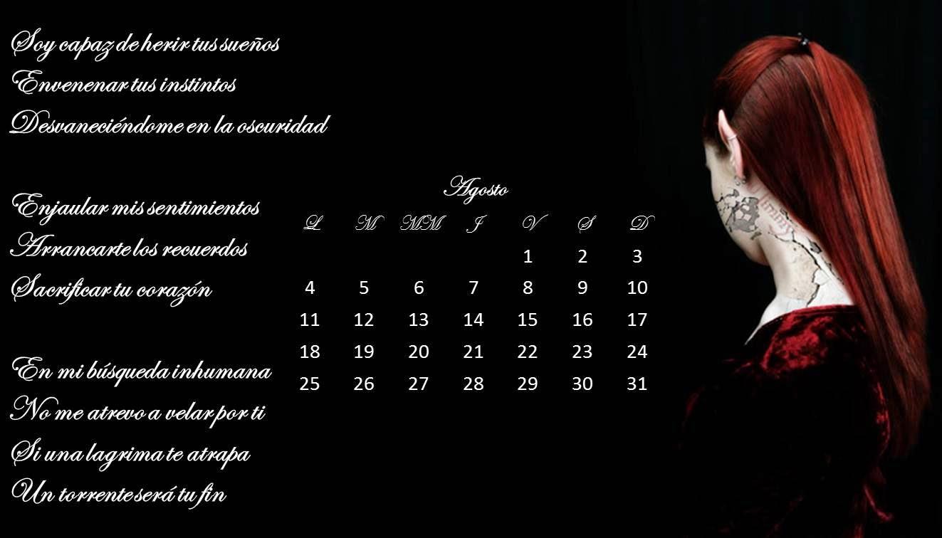 Calendario Goth