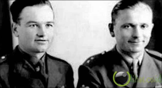 Jan Kubis and Jozef Gabcik