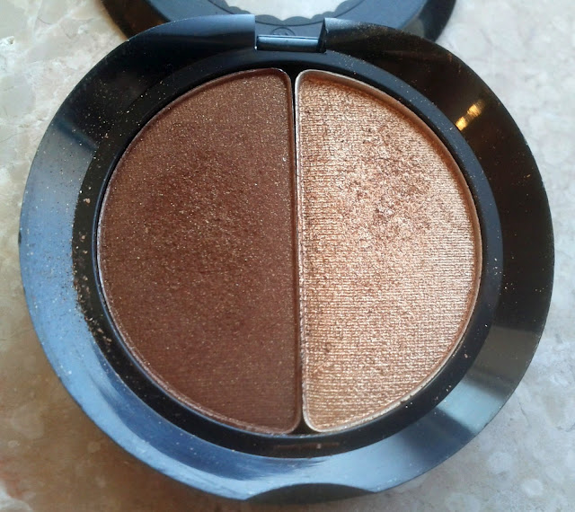 Too Faced Eye Shadow Duo in Cocoa Puff/Honey Pot