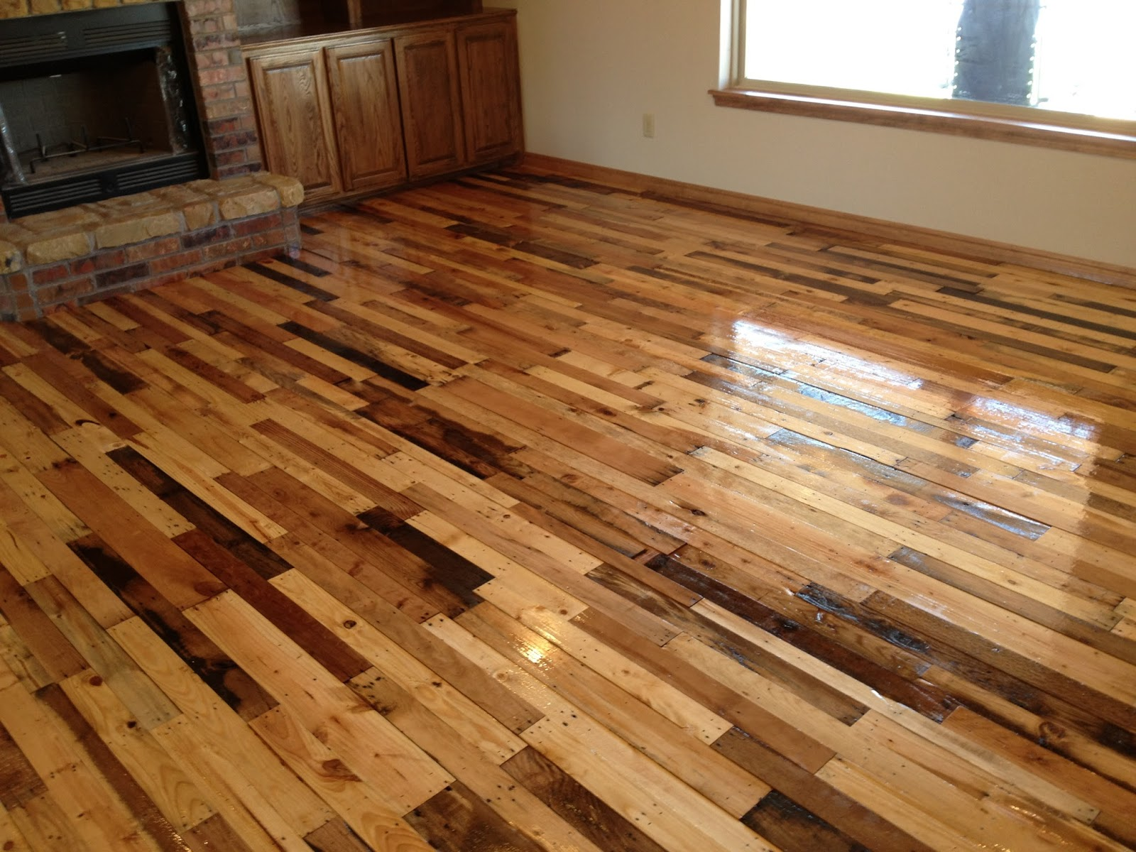 Diy hardwood floor flooring ideas home for Diy wood flooring ideas